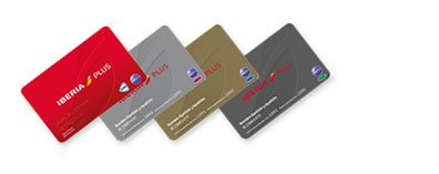 tarjetas fidelización de Iberia