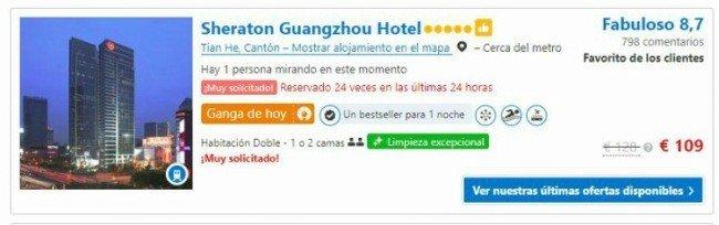 reservar hoteles con Booking