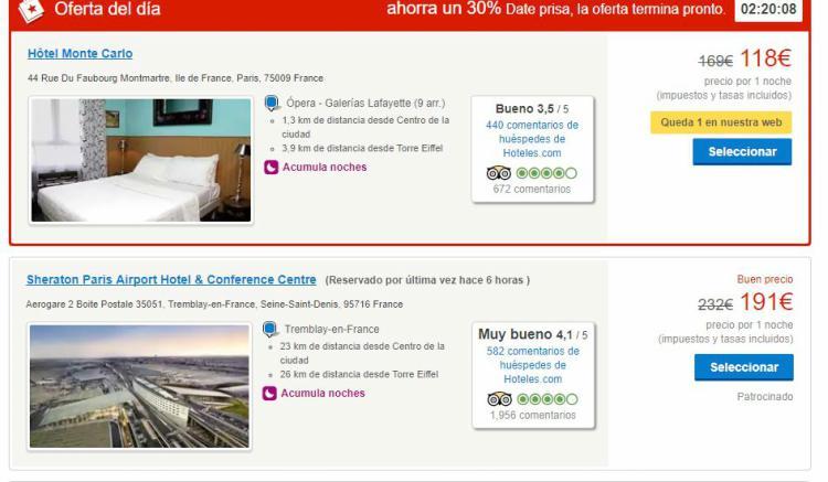 reservar hoteles con hoteles.com