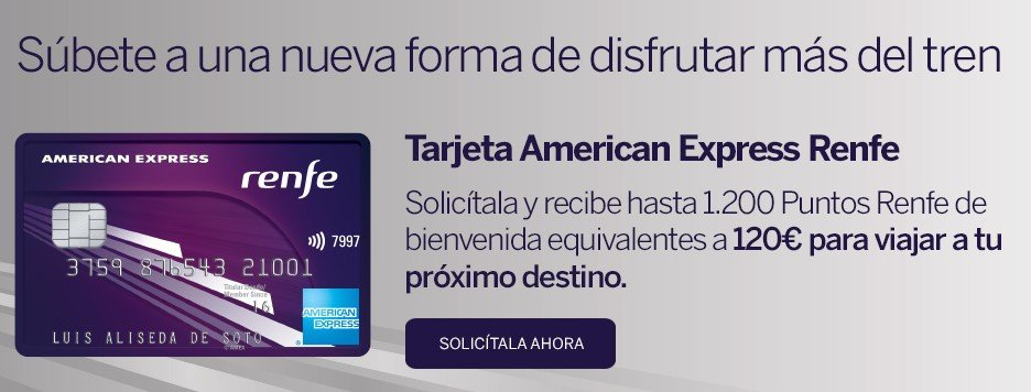 Solicitar American Express Renfe