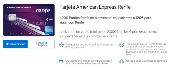 American Express Renfe