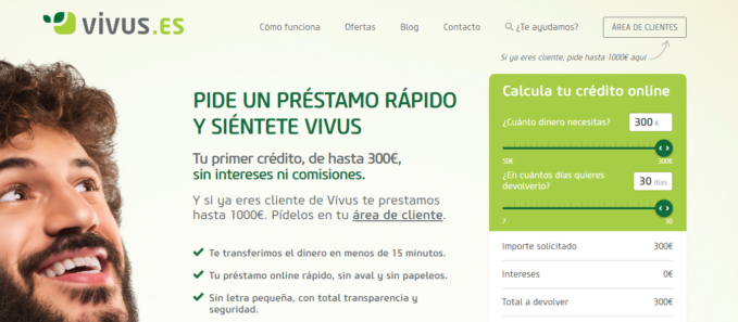 Página web de Vivus.es