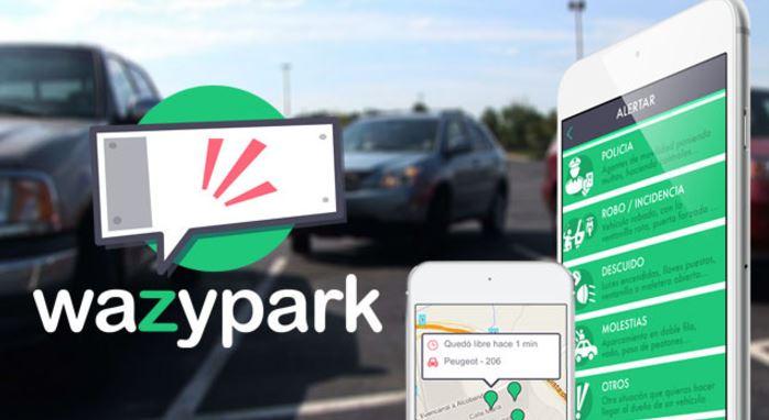 Aplicaciones para aparcar